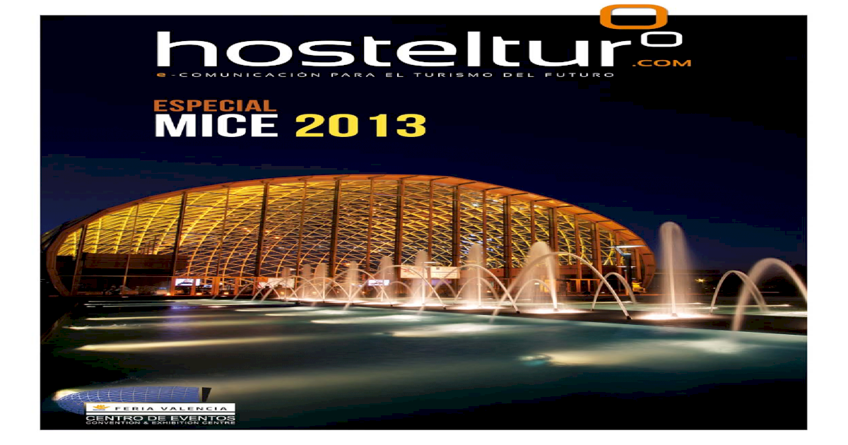 Hosteltur Mice 2013 Pdf Document